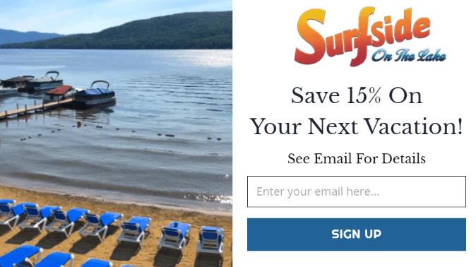 Building an Email List Pop-up